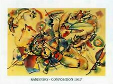 Wassily Kandinsky - Composition 1917 Poster (70x50cm) #36443