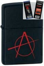 Zippo 20842 anarchy Lighter with *FLINT & WICK GIFT SET*