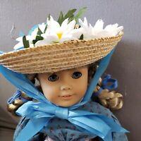 STRAW HAT / DAISY'S fits American Girl and Teddy Bears, orig. STEIFF CHERISH TED