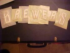 Milwaukee B-R-E-W-E-R-S  VINTAGE Jacket LETTER KIT