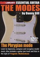 Fare clic su Libreria le modalità phrygian imparare a giocare Yngwie Malmsteen ROCK CHITARRA DVD