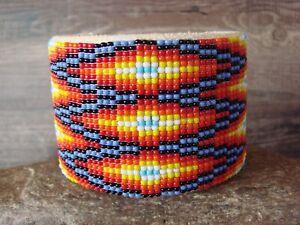 Navajo indisch Schmuck Hand perlenbesetzt armband von Jacklyn Cleveland