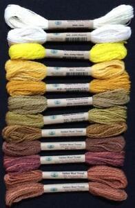 Valdani Alpine Seasons 100% Australian Wool Thread Collection Size 8 Thread
