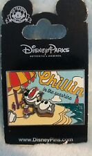 OLAF CHILLIN IN The Sunshine  Disney  PIN  2014  New on Card