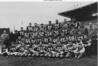 CFL 1959 Montreal Alouettes Team Picture B & W 8 X 10 Photo Picture