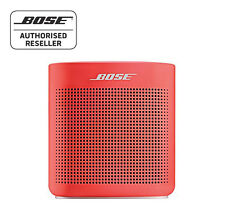 Bose Soundlink Colour ii Bluetooth Speaker - RED, Water Resistant, Lightweight