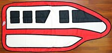 "New Disney Parks Red Monorail 73"" x 34"" Beach Pool Towel"