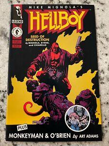 Hellboy Seed Of Destruction # 1 NM 1st Print Dark Horse Comic Book Mike Mig J598