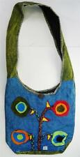 T397 FASHION TRENDY SHOULDER STRAP COTTON BAG  MADE IN NEPAL