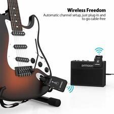 Système Transmetteur Guitare sans Fil Émetteur et Récepteur 2.4G ammoon
