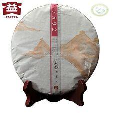 7592 * Menghai Dayi TAETEA Beeng Pu-erh Tea Cake 2014 357g Ripe -Batch 1401