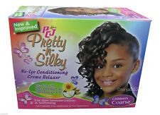 Luster's PCJ Pretty-N-Silky Children's No-Lye Relaxer - Coarse