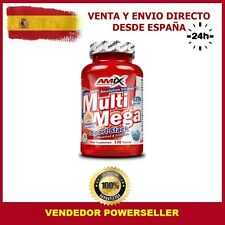 MULTI MEGA STACK - AMIX - 120 tabletas - VITAMINAS Y MINERALES - MULTIVITAMINICO