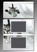 Kitten Cat Kitty Cute Pet Tabby Silver Striped Vinyl Skin 3 for Nintendo DS Lite