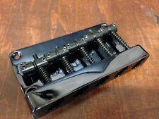 Black 5 String Electric Bass Guitar Hardtail Bridge P Bass Jazz Bass Replacement