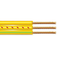 125 102 Flat Yellow Submersible Cable With Ground Well Pump Wire 600v