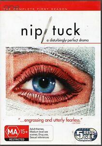 NIP/TUCK. Complete Series. S1, 2, 3, 4, 5 & 6. Julian McMahon. 34 x R4 DVDs