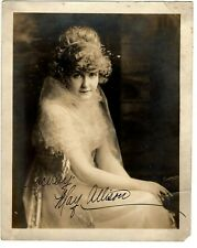 Antique Photograph ~May Allison ~Photographer Fred Hartsook (Inscription)