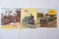 More details for c1950s triang hornby dublo model railway catalogue x3