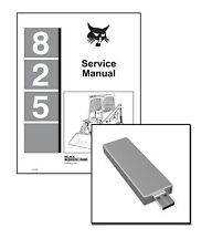 Bobcat 825 Skid Steer Loader Workshop Service Repair Manual on New USB Stick