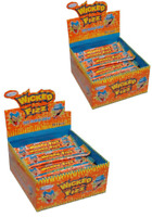 Wicked Fizz Chews X 120 Orange Halloween Candy Buffet Party Favors