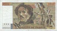 100 FRANCS DELACROIX (1978) Z.2 - Billet de banque français (TTB) N°306847