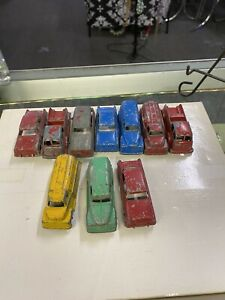 Vintage TootsieToy Antique Tootsie Toy Painted Metal Cars Lot A (10) Toys