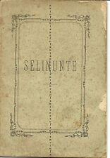 TREVISO-Selinunte-Lettera - Prof.P. Ab.Donà  al Chiar. Comm Ab,De Bernardi 1879