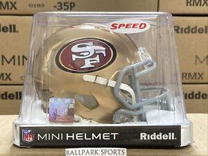 San Francisco 49ers - Riddell NFL Speed Mini Football Helmet