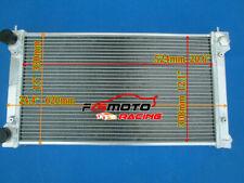 Aluminio Radiador de para VW Golf MK1 MK2 GTI Scirocco 1.6 1.8 8V MT 1981-1991
