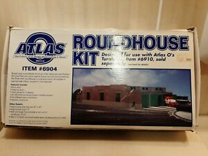Atlas O Scale 3 Stall Roundhouse Kit #6904, New In Box