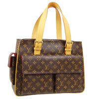 LOUIS VUITTON MULTIPLI CITE HAND TOTE BAG MB1003 MONOGRAM CANVAS M51162 33010
