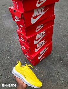 Yellow Air Max 97s Customized Air Max 97s