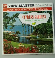 Viewmaster reels Cypress Gardens  Floral Paradise Fl. US Travel  #A969 from 1971