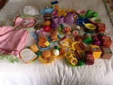 Lot of Play Food Little Tikes Fisher Price Chilton-Most Are Vintage/90+ Pieces