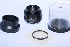 Leica SUMMILUX-R 50mm f/1.4 MF Normal Lens w/ Hood. Canon 5D MIII, M240, Sony a7