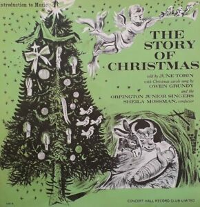 "June Tobin-The Story Of Christmas 10"" Single/Booklet.Introduction To Music IME 6"