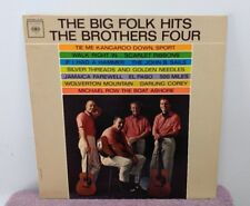 "Vintage LP - ""The Big Folk Hits"" - The Brothers Four - Columbia 2 Eyes - VGC"
