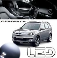 Citroen C-CROSSER 14 Ampoules LED Blanc plafonnier Habitacle Coffre tapis portes
