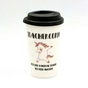 Teachercorn Travel Cup - Novelty Mugs