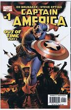 Marvel Captain America #1 PSR Out of Time Part 1