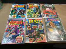 DC Unknown Soldier Lot of 6 Comics 251 263 265 266 267 & Vol 2: 6