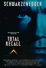 TOTAL RECALL (1990) ORIGINAL MOVIE POSTER  -  ROLLED