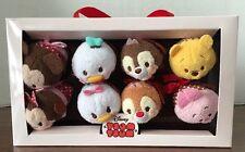Authentic Us Disney Mickey and Friends Valentine Candy Box Tsum Tsum Set Nib!
