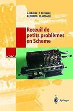 Scopos: Recueil de Petits Problmes en Scheme 6 by Moreau (1999, Paperback)