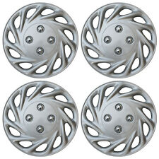 "4 Piece SET Hub Cap ABS Silver 13"" Inch for OEM Steel Wheel Cover Caps Covers"