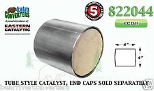 "Eastern Universal Tube Canister Catalytic Converter ECO II 4"" Body 822044"