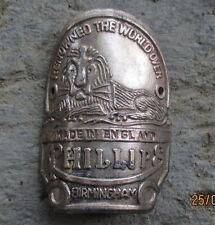 VINTAGE PHILLIPS BICYCLE HEAD BADGE BIKE emblem badge logo RARE 1960 1970 NOS
