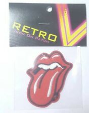 Rolling Stones Music Rock embroidered iron on sew on patch retro vintage style