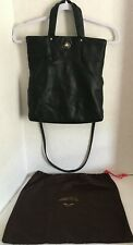Kate Spade New York Crossbody Purse Or Tote Black Leather Polka Dot Interior